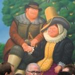 Közel 1,4 millió dollárért kelt el Botero családképe