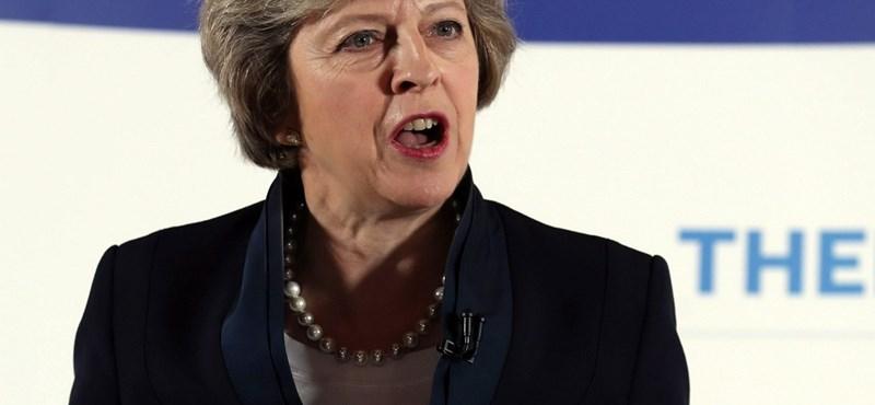 Theresa May, a brit kisemberek Vasladyje