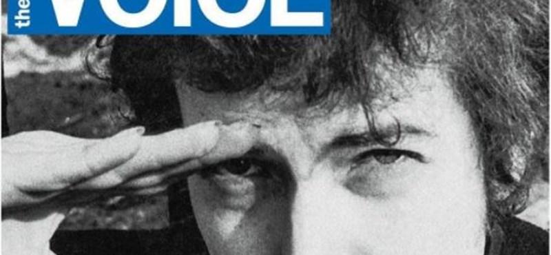 Dylannel a címlapján búcsúzott a kultikus underground hetilap