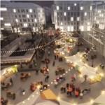 Fotók: Ilyenek lesznek a Vörösmarty tér új bódéi
