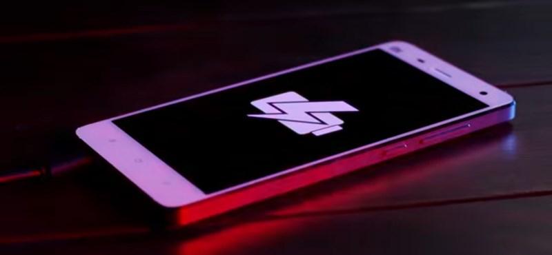 Mikor tölthetjük végre fel 15 perc alatt teljesen a telefonunkat?