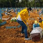 Brazíliában 55 ezren fertőződtek meg egyetlen nap alatt