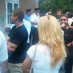 RSK: Jobbikosok vonultak fel egy miskolci cigánytelepen
