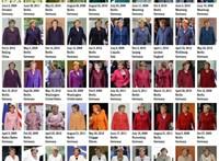 15 éve kancellár Angela Merkel, 15 éve öltözködik ugyanúgy