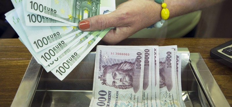 Meglódult a forint estére, esett az euró árfolyama