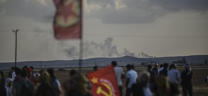 Kurd búvóhelyeket bombáztak a törökök Irakban