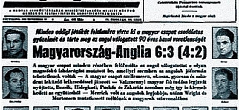 A Telekom digitálisan felújította a magyar válogatott legendás 6:3-as meccsét
