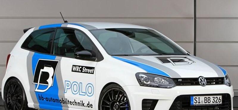 Ilyen egy 362 lóerős Volkswagen Polo – fotók