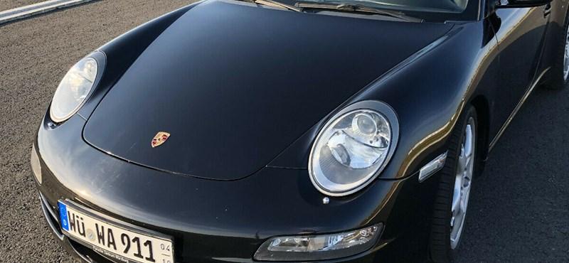Spórolós Porsche: itt egy gázüzemű 911-es kabrió