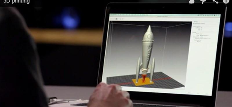 Ha 3D nyomtatásban gondolkodik, ide érdemes benéznie