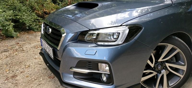 Subaru Levorg-teszt: nyomokban STI-t tartalmaz