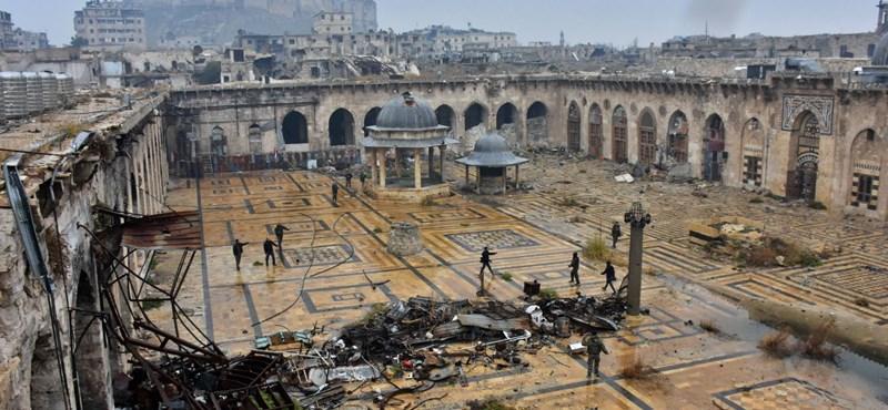 Megkezdődött a tisztogatás Aleppóban – megoldás lehet Szíria felosztása?