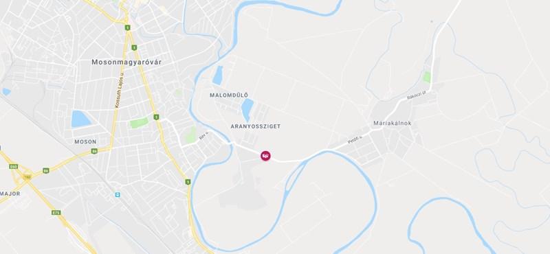 Halálos baleset Mosonmagyaróvárnál, teljes az útzár