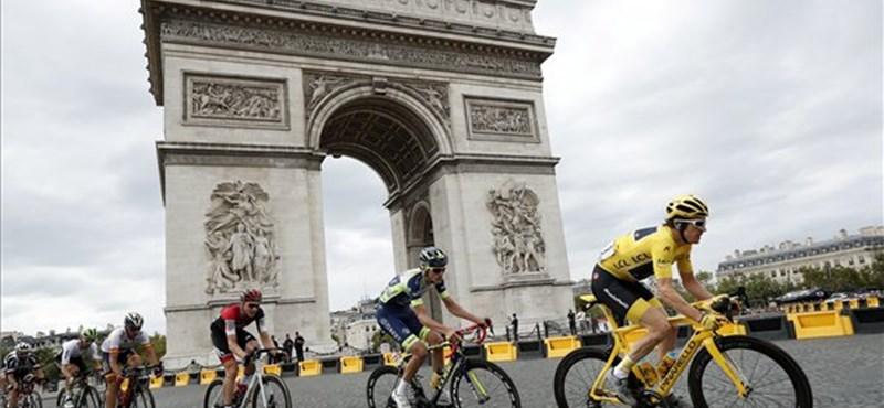 Ellopták a Tour de France győztese, Geraint Thomas trófeáját
