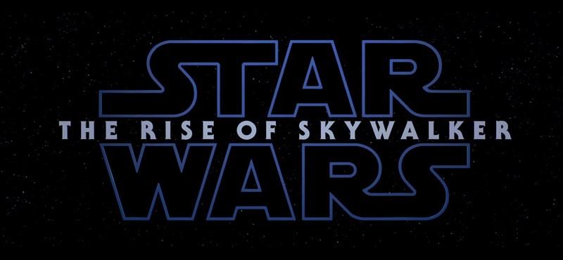 Itt az első trailer a Star Wars IX-hez, és a címe is kiderült
