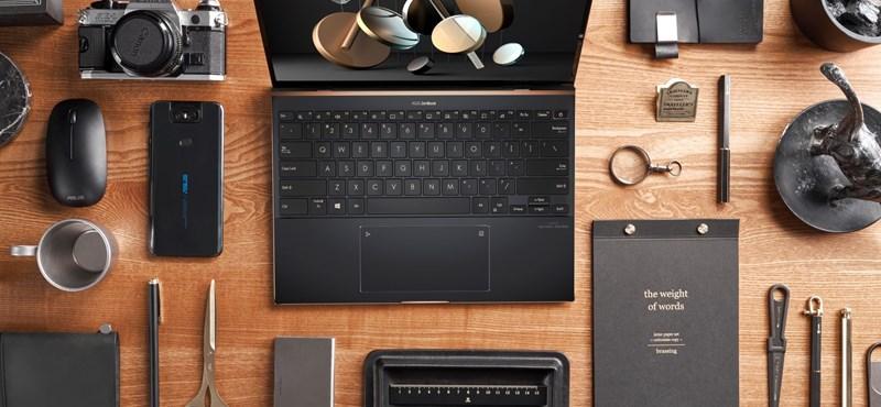 12 óra üzemidő, mozgásérzékelő, új Intel chipek: ilyenek lettek az Asus Tiger Lake laptopjai