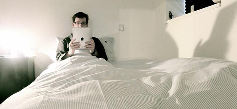 Ezért ne használja táblagépét, telefonját az ágyban