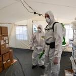 Koronavírus: 15 ezerhez közelít a halottak, 340 000-hez a fertőzöttek száma