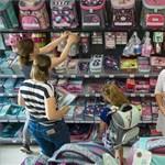 Nagy forgalom lesz az áruházakban ezen a hétvégén az iskolakezdés miatt