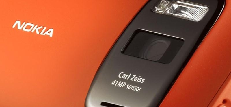 41 megapixeles fényképező lesz az új csúcsmobilban
