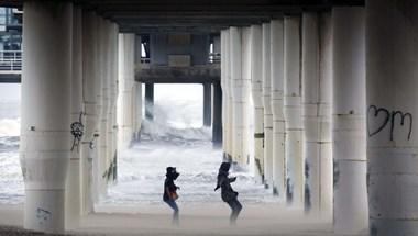 Viharos szél miatt adtak ki riasztást