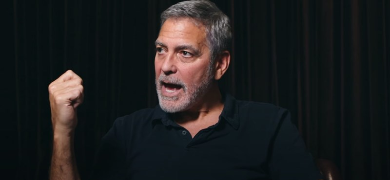 George Clooney replied to the government: I look forward to the day when Hungary will rediscover what once was