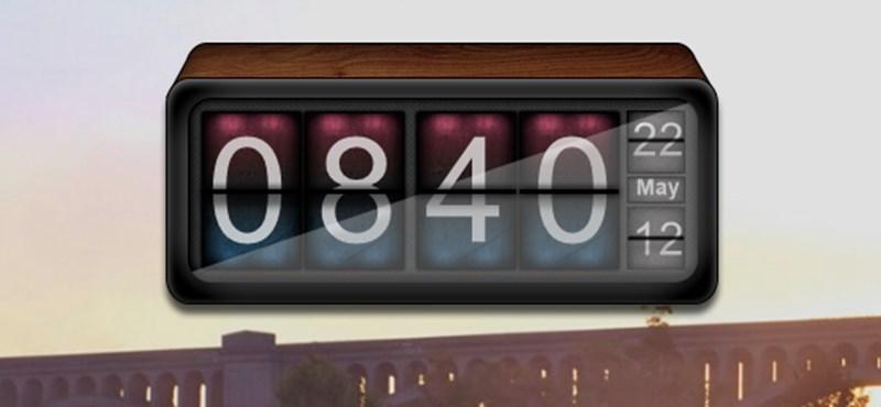 Kihagyhatatlan, látványos geek óra a Windows Asztalára