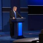 Sisteregtek az indulatok Trump és Clinton első tévés vitáján