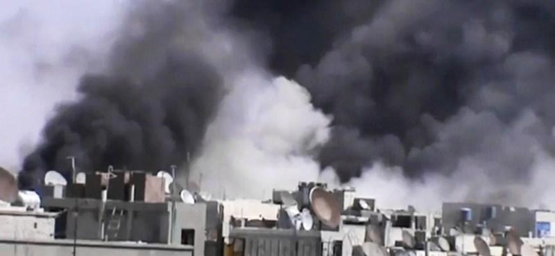 A tüntetőkre lőttek Szíriában