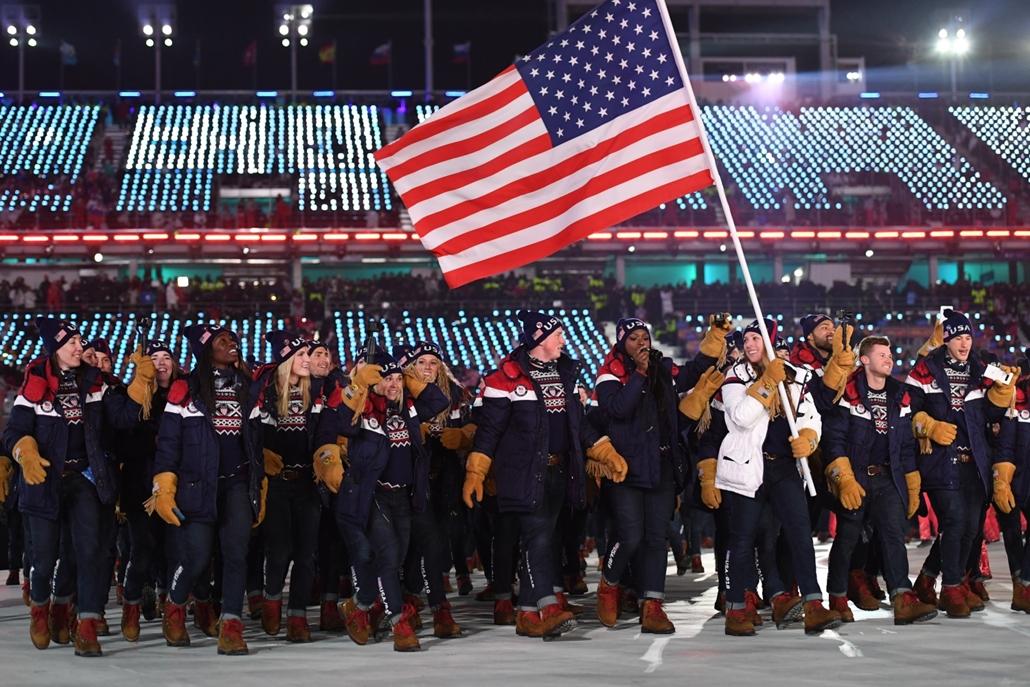 afp.18.02.09. - Téli Olimpia 2018 - megnyitó ünnepség amerika