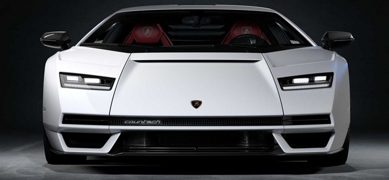 Back to the future: The new Lamborgini Countach debuts as a hybrid with 819 horsepower