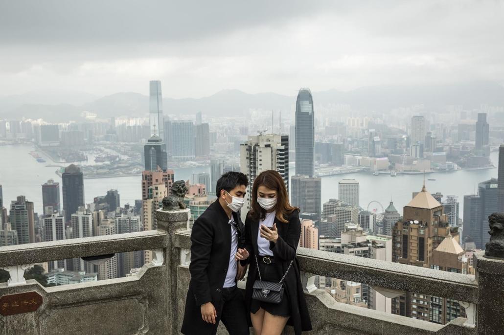 nagyítás - koronavírus, hong kong