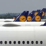 Hétfőn 148 frankfurti járatot törölnek