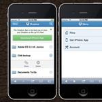 Új Dropbox felület a mobil böngészőkhöz