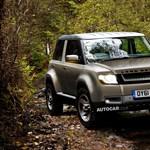 A Land Rover is bébiterepjárót építene