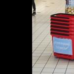 Szinglikosárral lehet ismerkedni a csömöri áruházban