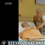 Magatehetetlen beteg mellett imitáltak szexet a pécsi ápolók