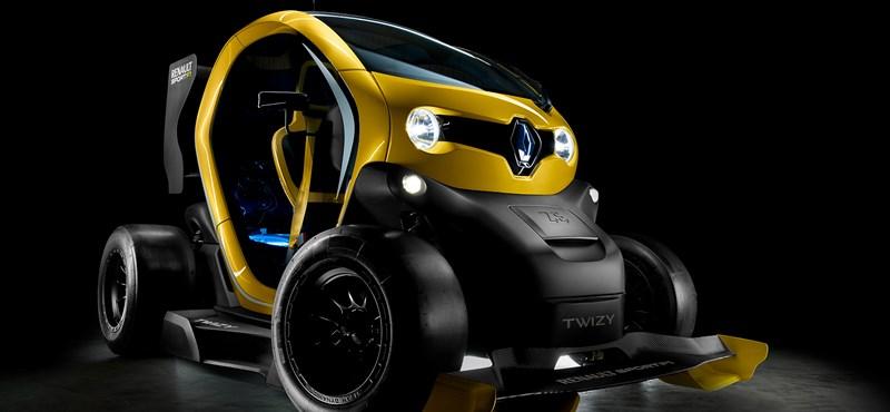 Teljesen őrült kis járművet mutatott be a Renault