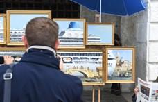 A Velencei Biennálén is felbukkant Banksy