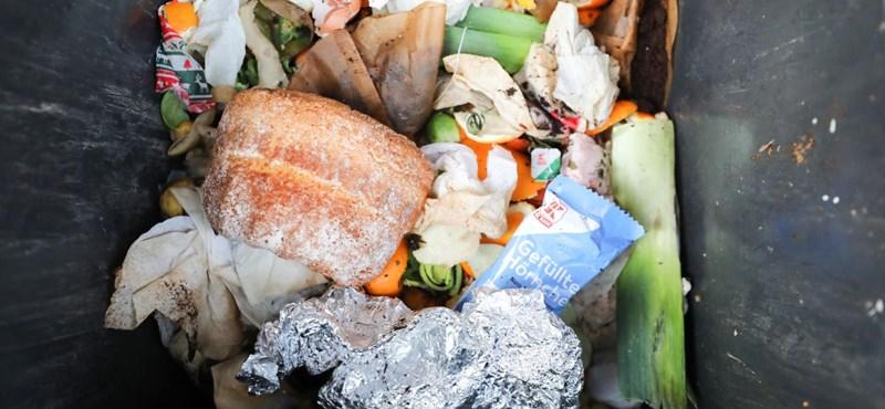 A magyarok évente fejenként 68 kiló ételt dobnak a kukába