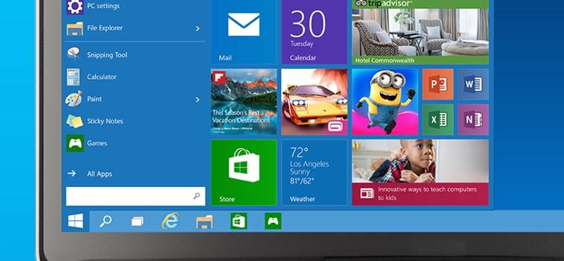 Windows 10: ma sok újdonság kiderült, íme a legérdekesebbek