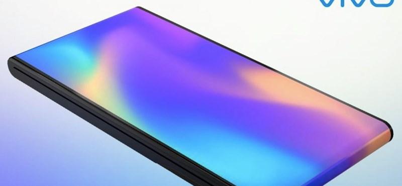 Igen egyedi megoldással hajtható, kétképernyős mobilt talált ki a Vivo