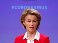 Európai Marshall-tervet hirdetett a válság ellen Ursula von der Leyen