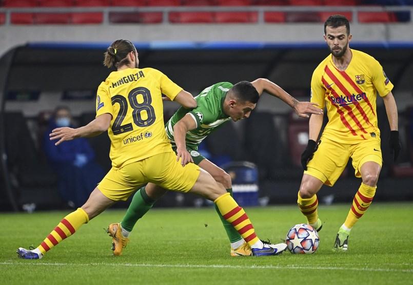 Ferencváros – FC Barcelona 0–3