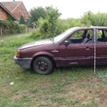 Ellopták az autót a csobánkai ház elől, de ez volt a kisebb baj