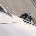 A levegőben esett szét az Air France egyik gépének hajtóműve – videó