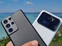 Összeengedtünk a Xiaomi és a Samsung legjobb telefonjait : teszten a Mi 11 Ultra és az S21 Ultra