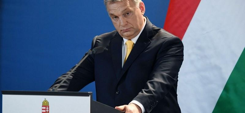 Orbán arcon köpése volt az egyik kérdés egy holland műsorban