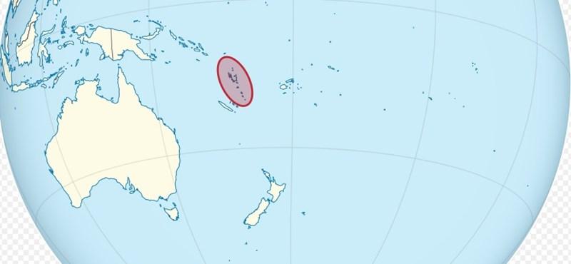 Éjjel 7-es földrengés és cunami volt a Csendes-óceánon