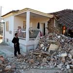 Erős földrengés volt Görögországban, sok épület romba dőlt